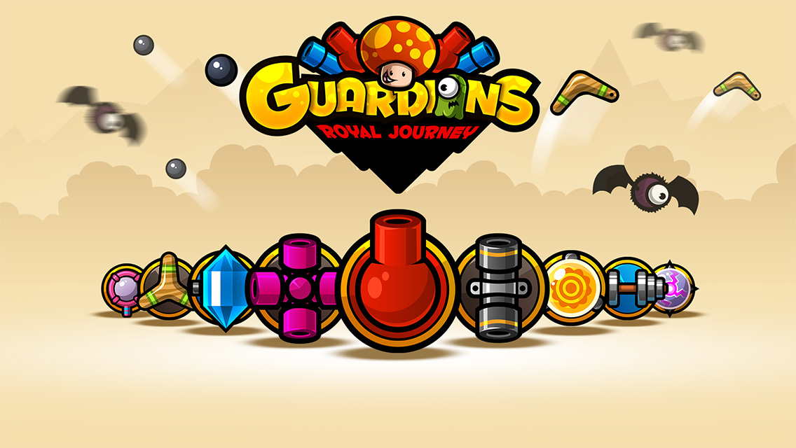 Guardians: Royal Journey - A Tower Defense Game is waiting for you Image